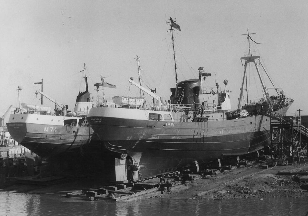 photo of trawler Ella Hewett