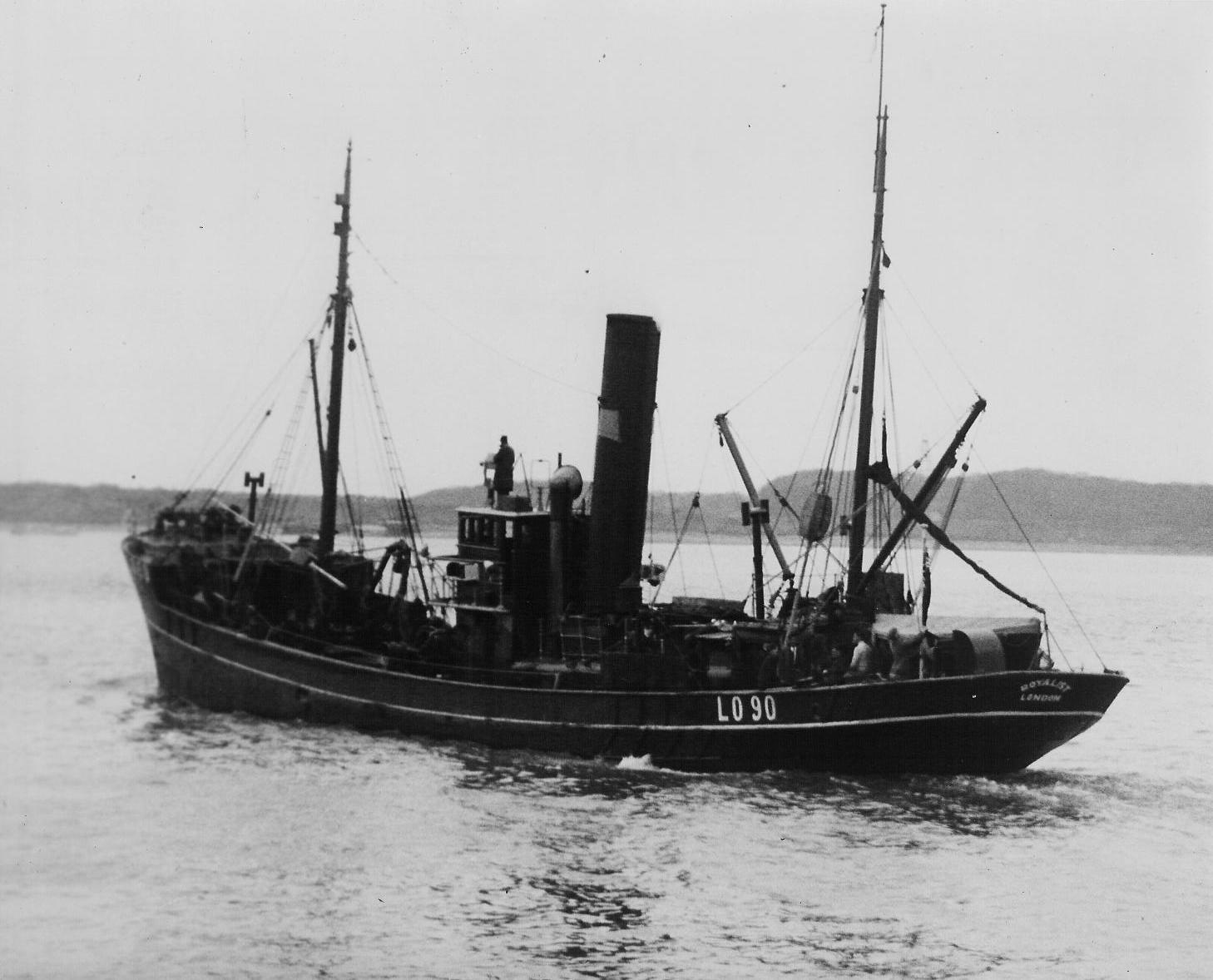 photo of trawler Royalist