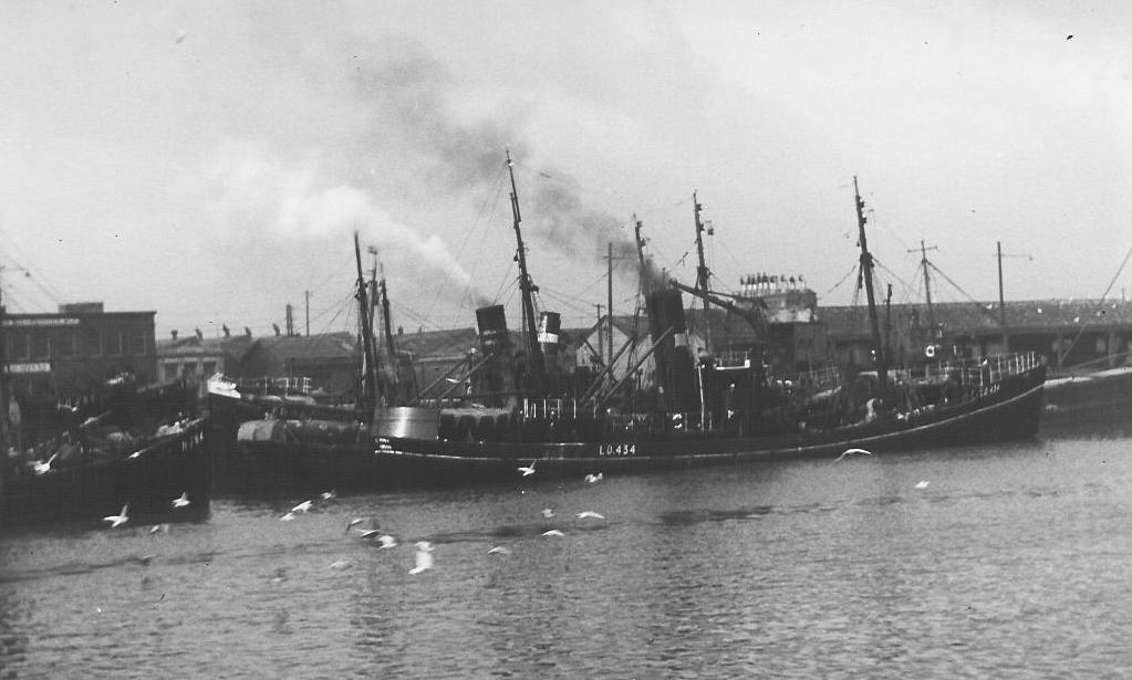 photo of trawler St Just