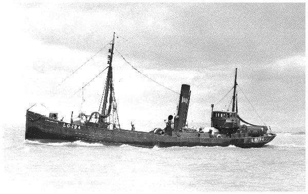 photo of trawler Bridlington