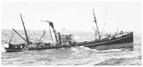 photo of trawler Robert Hewett