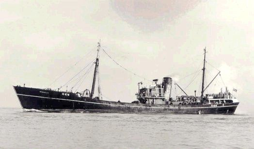 photo of trawler Spurnella