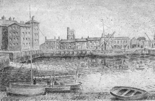 Sketch of Barking Pool c1800