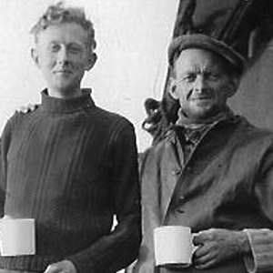 photo of Peter Hewett and Victor Buschini